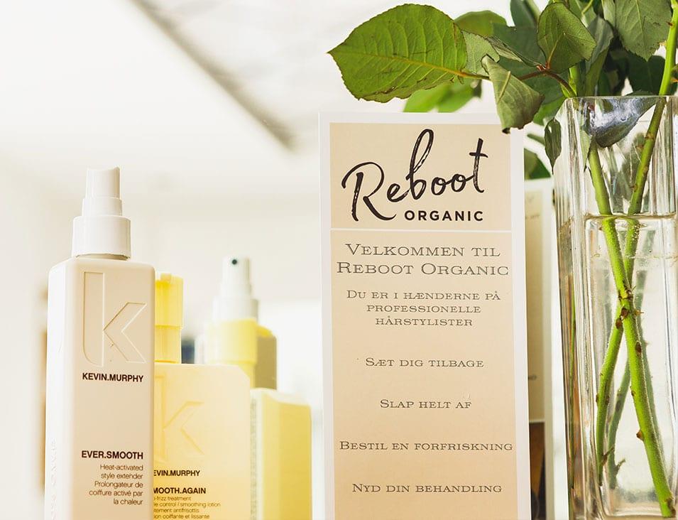 Grøn frisør københavn k Reboot Organic
